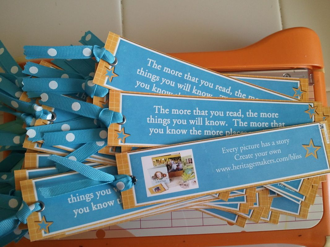 Make a bookmark for you kids' class