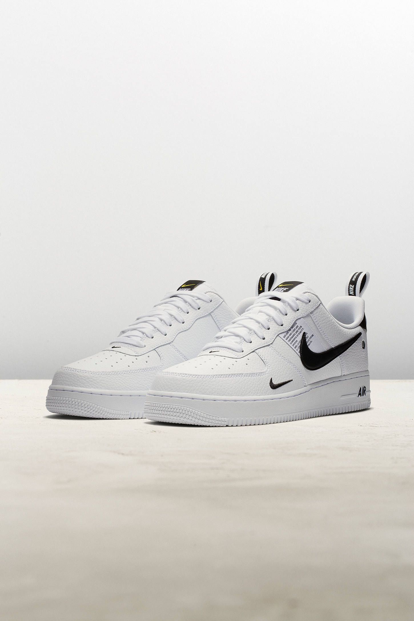 961e83d536f2 Nike Air Force 1 '07 LV8 Utility Sneaker | Tags: sneakers, low tops, white  leather