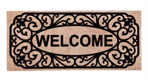 Filigree Welcome Sassafras Switch Mat By Evergreen