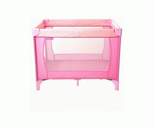red kite sleep tight travel cot pink includes mattress. Black Bedroom Furniture Sets. Home Design Ideas