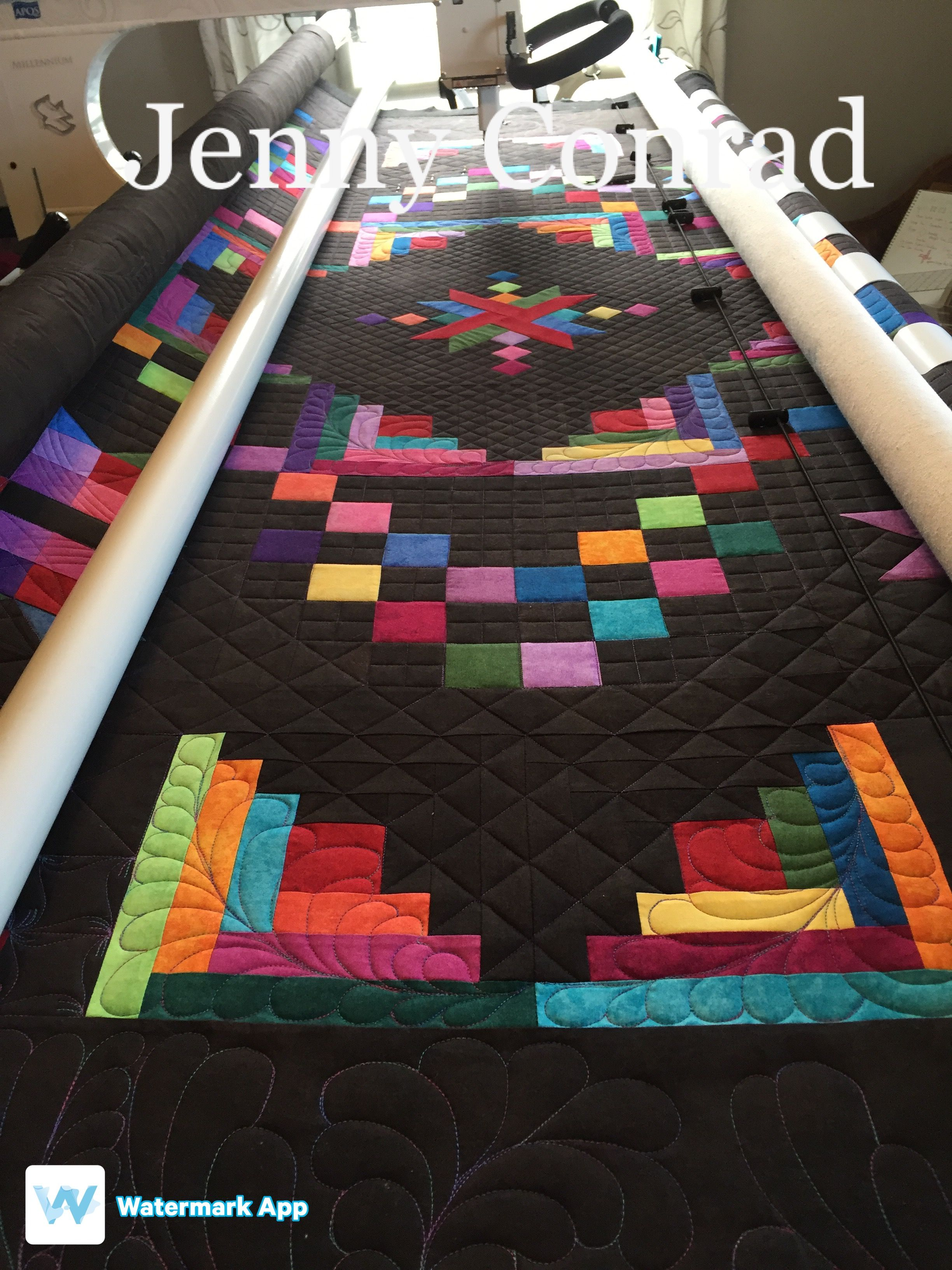 quilting time longarm gallery new in a quilts made quilt by custom mary format frost stitch