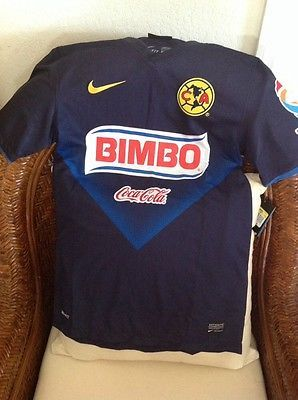 c3fe15dc2e5 NWT CLUB AMERICA NIKE DRI-FIT BIMBO MEXICO AGUILAS SOCCER JERSEY SIZE S MENS