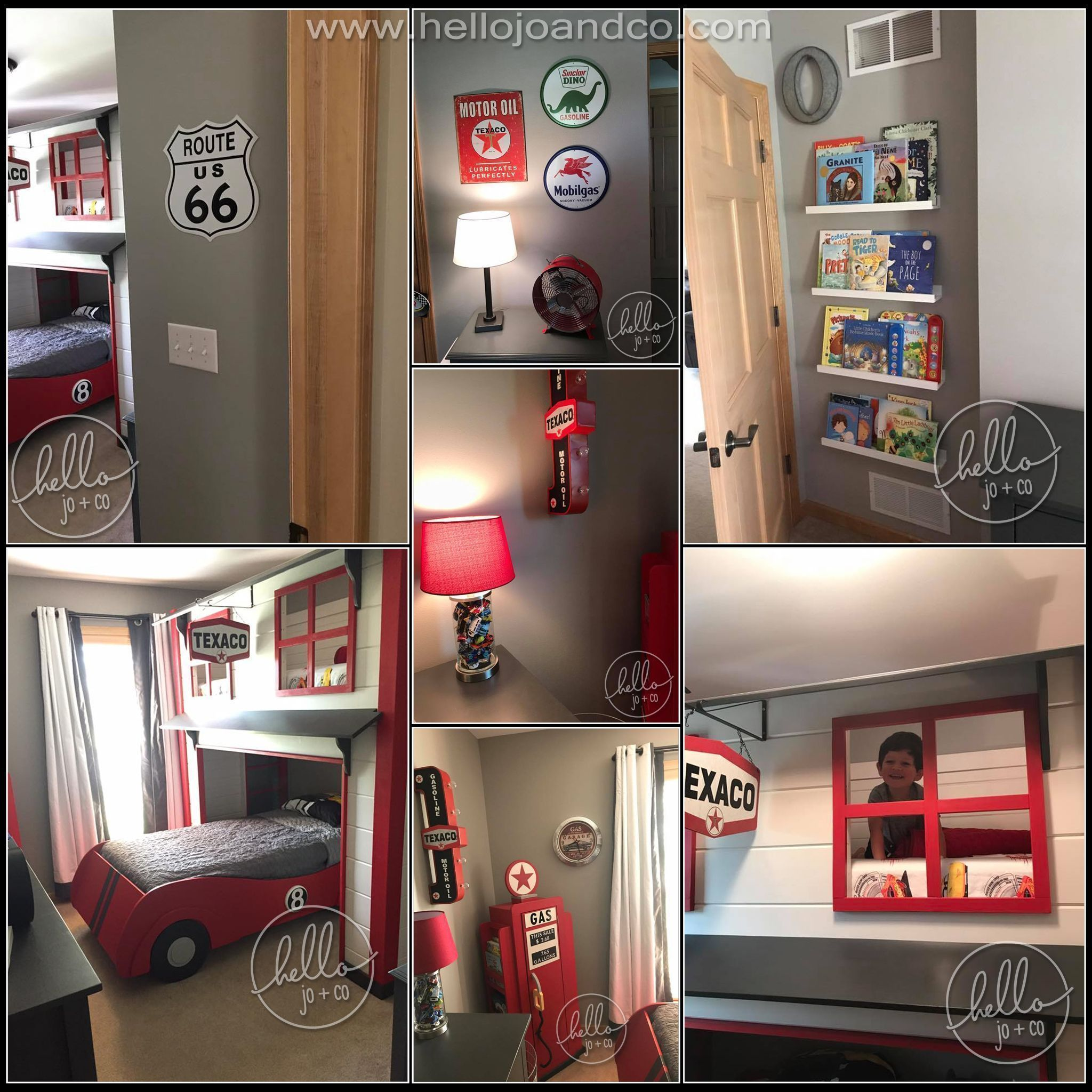 Wwwhellojoandcocom Twin Over Twin, Gas Pump Book Shelf & Matching