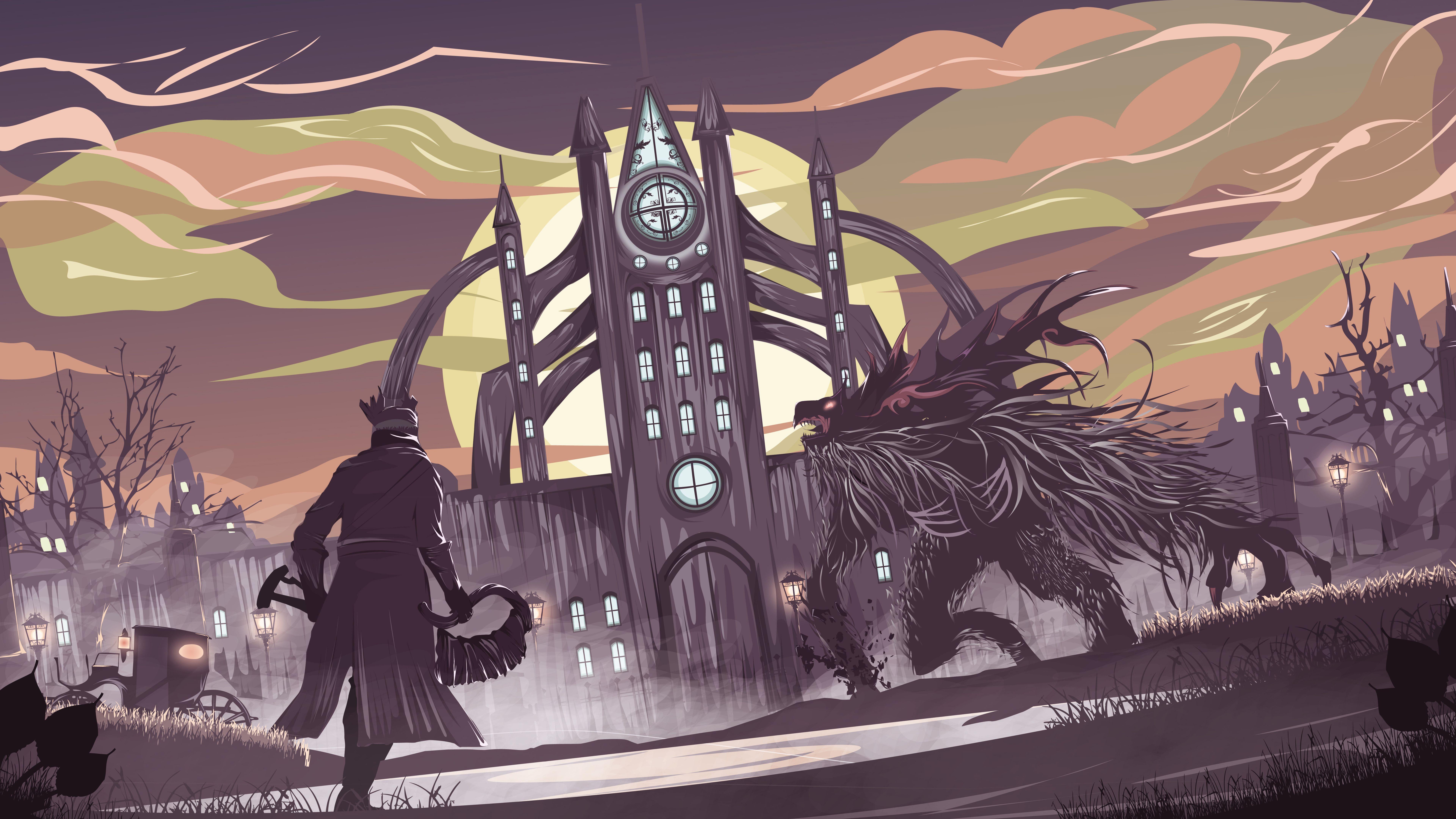 Bloodborne Game Artwork 8k 8k Wallpaper With Images