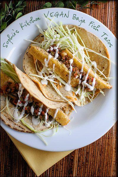 Fishless Vegan Tacos Just Like Baja Fish Tacos I Loved At Rubio S In San Diego Ca Vegan Cookbook Vegan Recipes Easy Vegan Fish