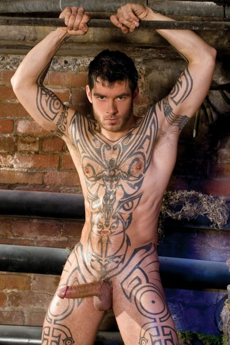 tattoos with Naked men
