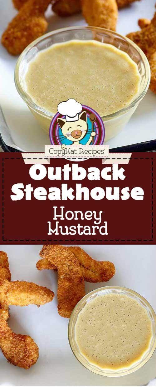Copycat Outback Steakhouse Honey Mustard