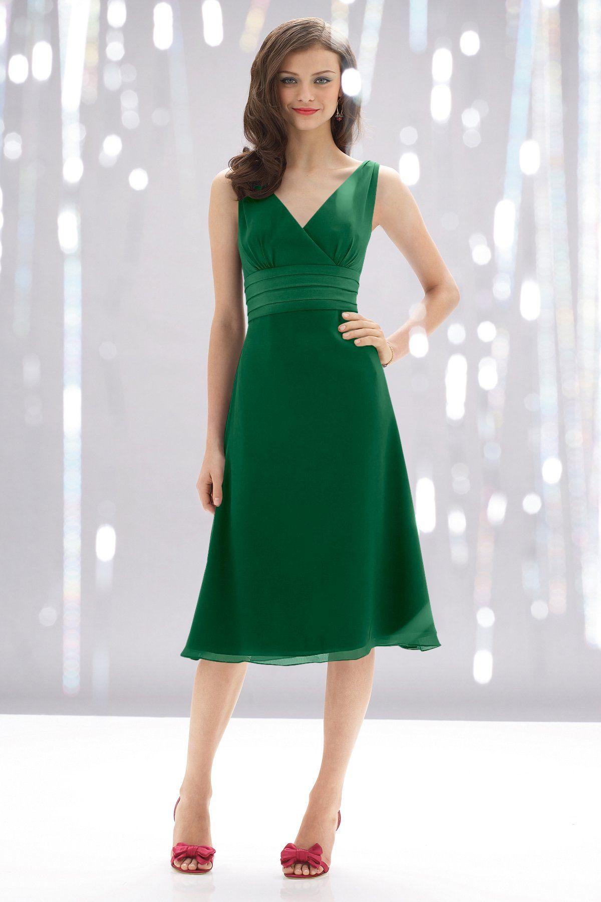 Green long sleeve cocktail dress  Emerald Green Wtoo  Bridesmaid Dress  Weddington Way  Always a