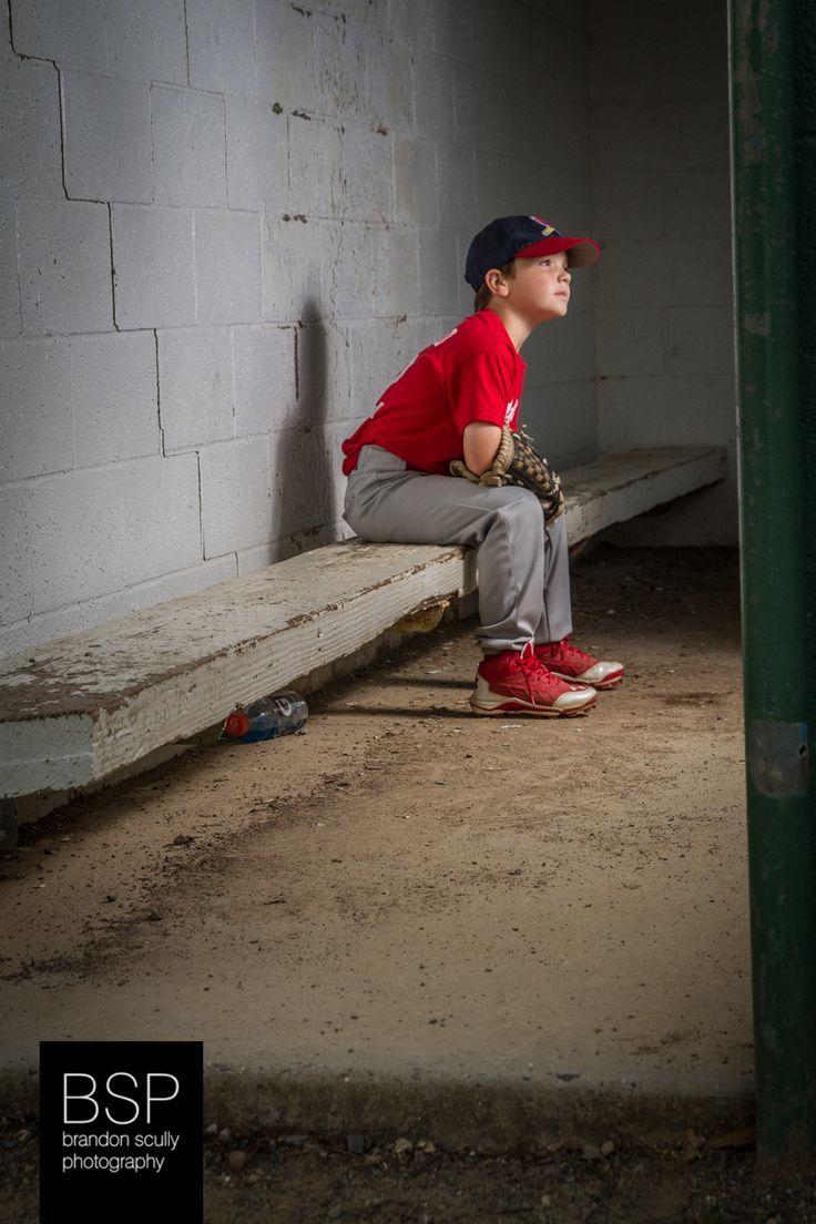 Little league baseball youth sports portrait photography
