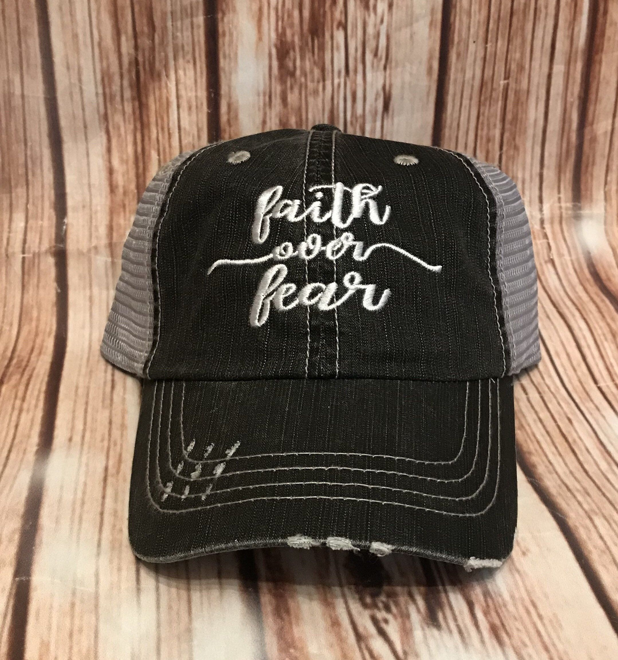 Faith Over Fear Hat Vintage Gifts For Her Faith Fear Faith Hope Love Faith Trucker Hat Christian Gifts Personalized Jesus Hat Christian Hats Hats Vintage Trucker Hat