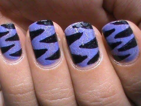 Purple tiger nail art designs easy youtube do it yourself nails step purple tiger nail art designs easy youtube do it yourself nails step by step how to solutioingenieria Choice Image