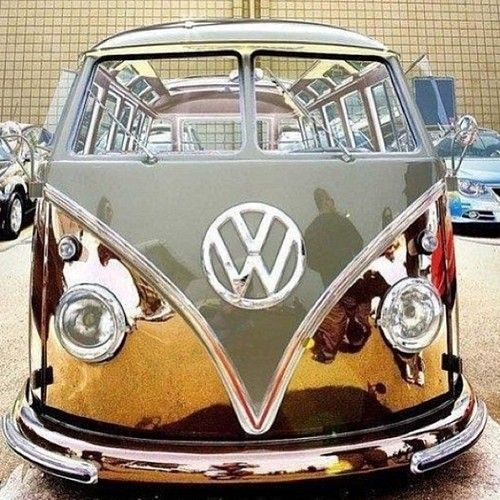 Old v-dub! Imagine the adventures you could have in this!