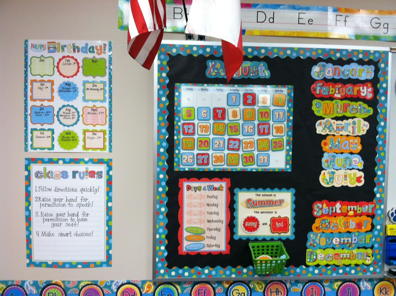 Flying Into First First Post And A Tour Classroom Decorations Kindergarten First Day Owl Classroom