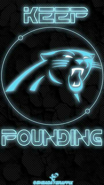 KEEP POUNDING Carolina Panthers WallpaperPanther