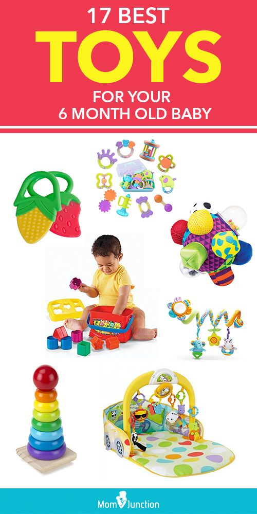 17 Best Toys For Your 6 Month Old Baby | Cool toys, 6 ...