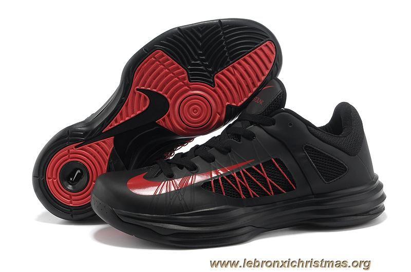 separation shoes fb8f5 37b55 ... Chaud Nike Lunar Hyperdunk Low Noir Rouge  Nike Lebron ...