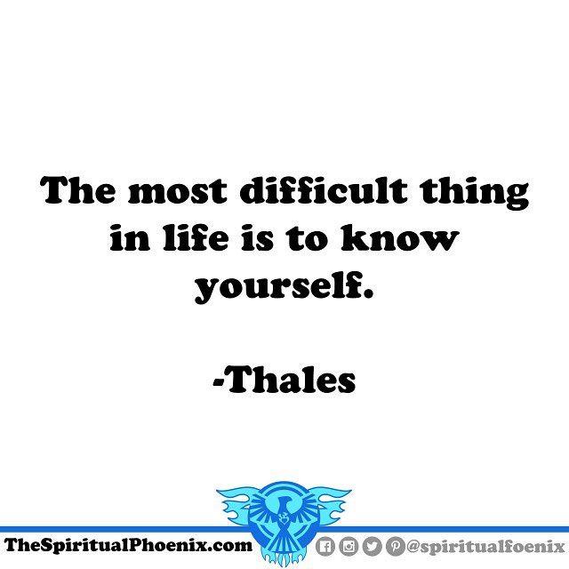 #Thales #philosophy #spirituality #spiritual #quote # ...