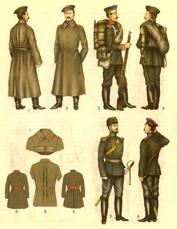 Note For Constable And His Men Imperial Russian Uniforms