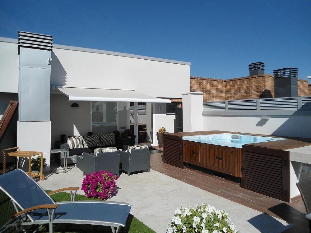 Proyecto Axioma Terraza En Un Atico Axioma Arquitectura De Interior En 2020 Diseno De Terraza Aticos Exterior Hogar