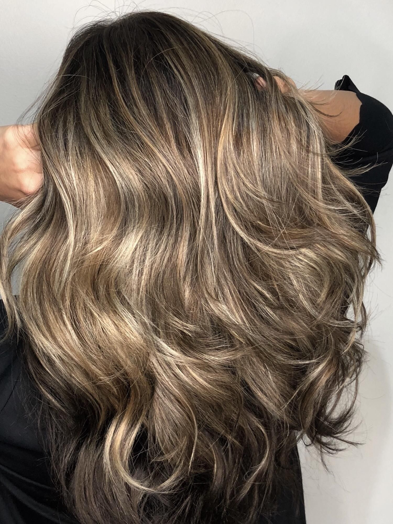 The Triple Threat Root Touch Up Partial Highlight And A Custom Cut