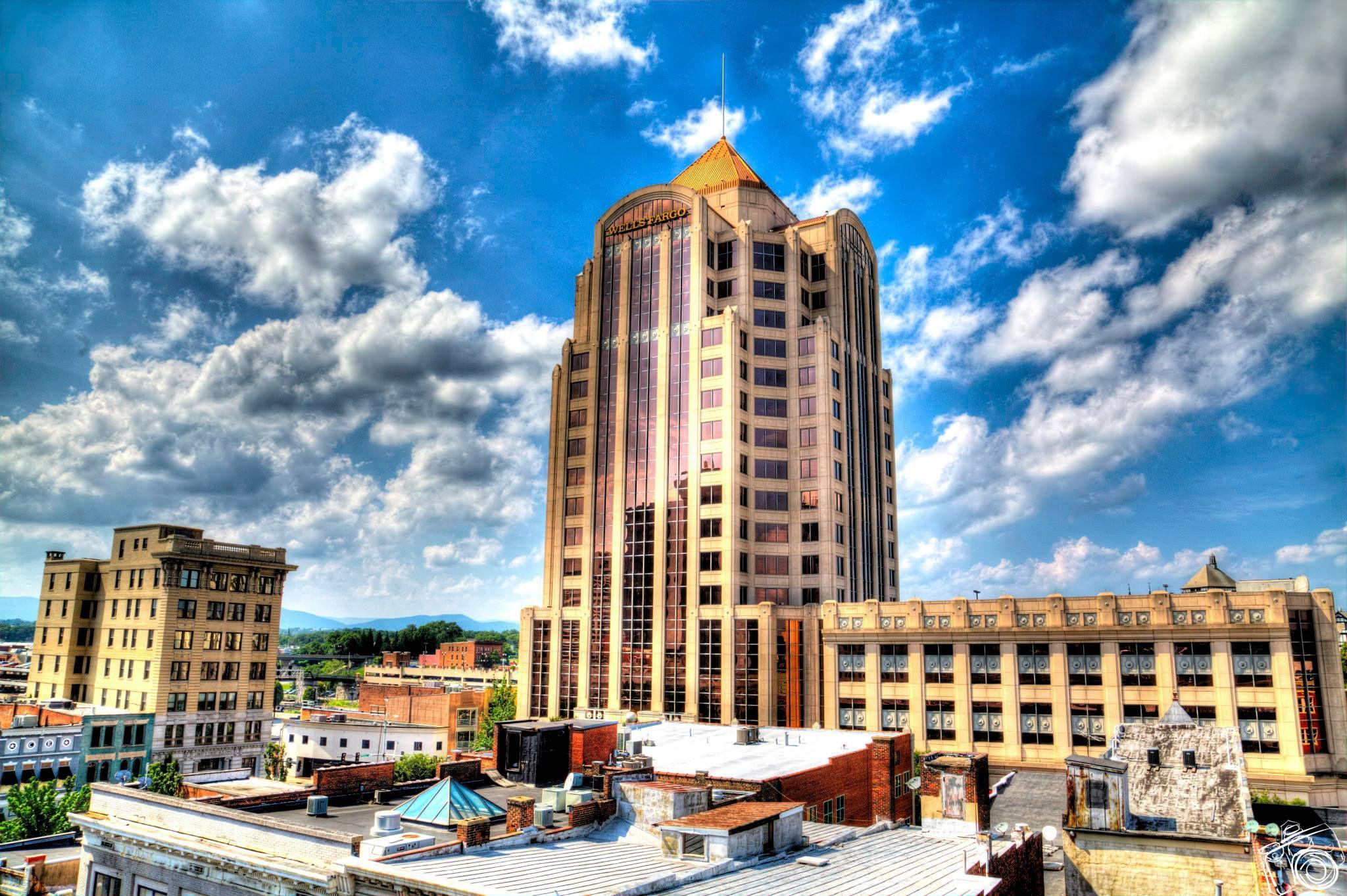 Wells Fargo Building In Roanoke Transcendence Photos Roanoke Historical Landmarks Magic City