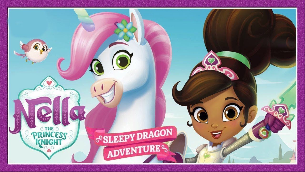 Nella The Princess Knight Sleepy Dragon Adventure Children S Game Nic Oyun Prenses Cartoon Network