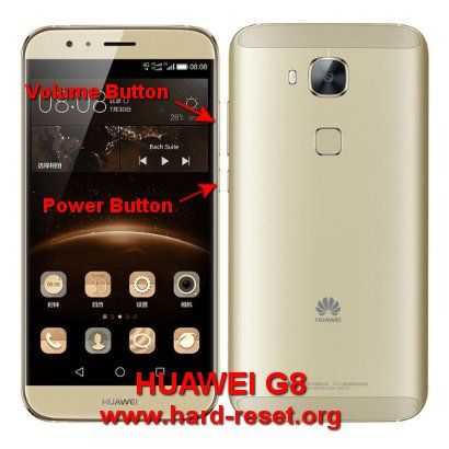 Hard Reset Factory Default Community Huawei Smartphone Android Smartphone
