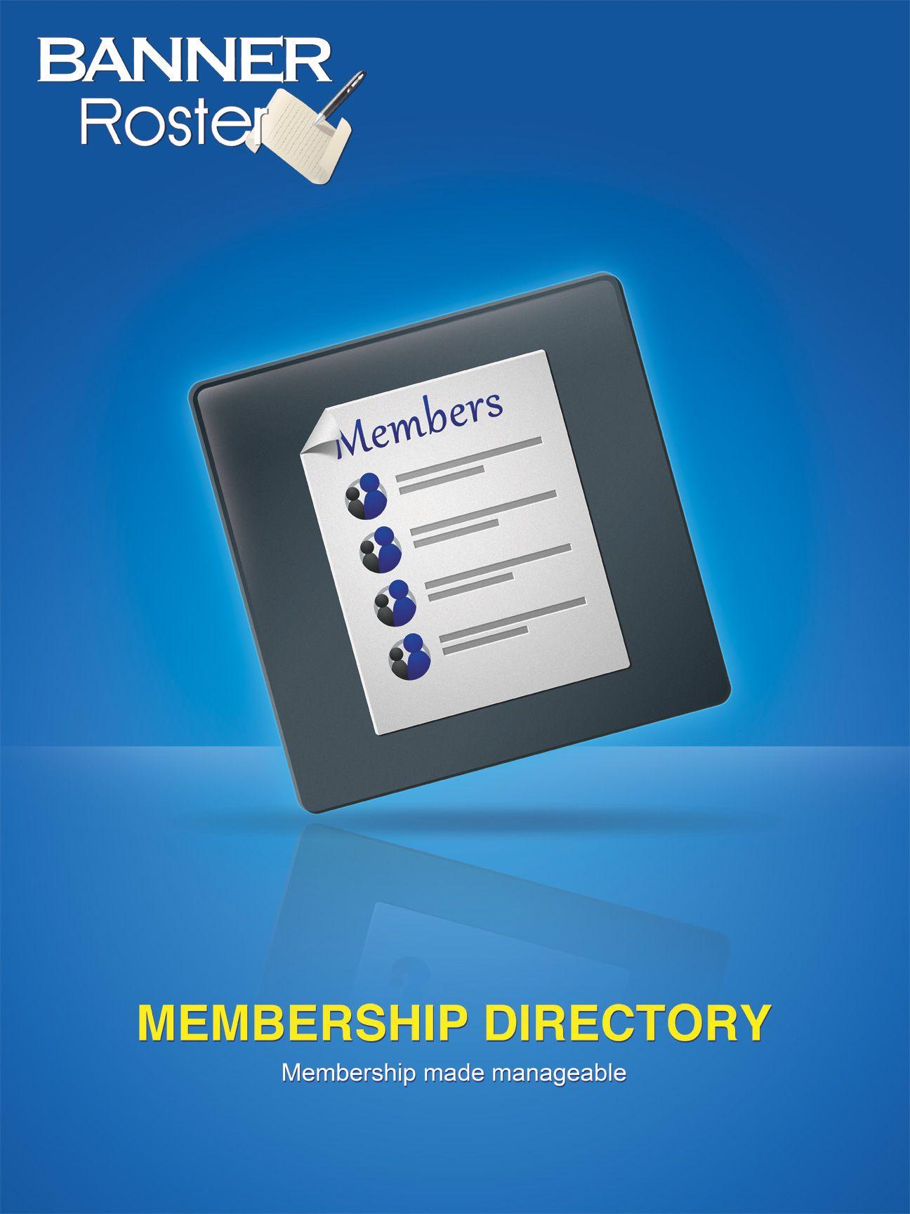 Membership Directory Manager