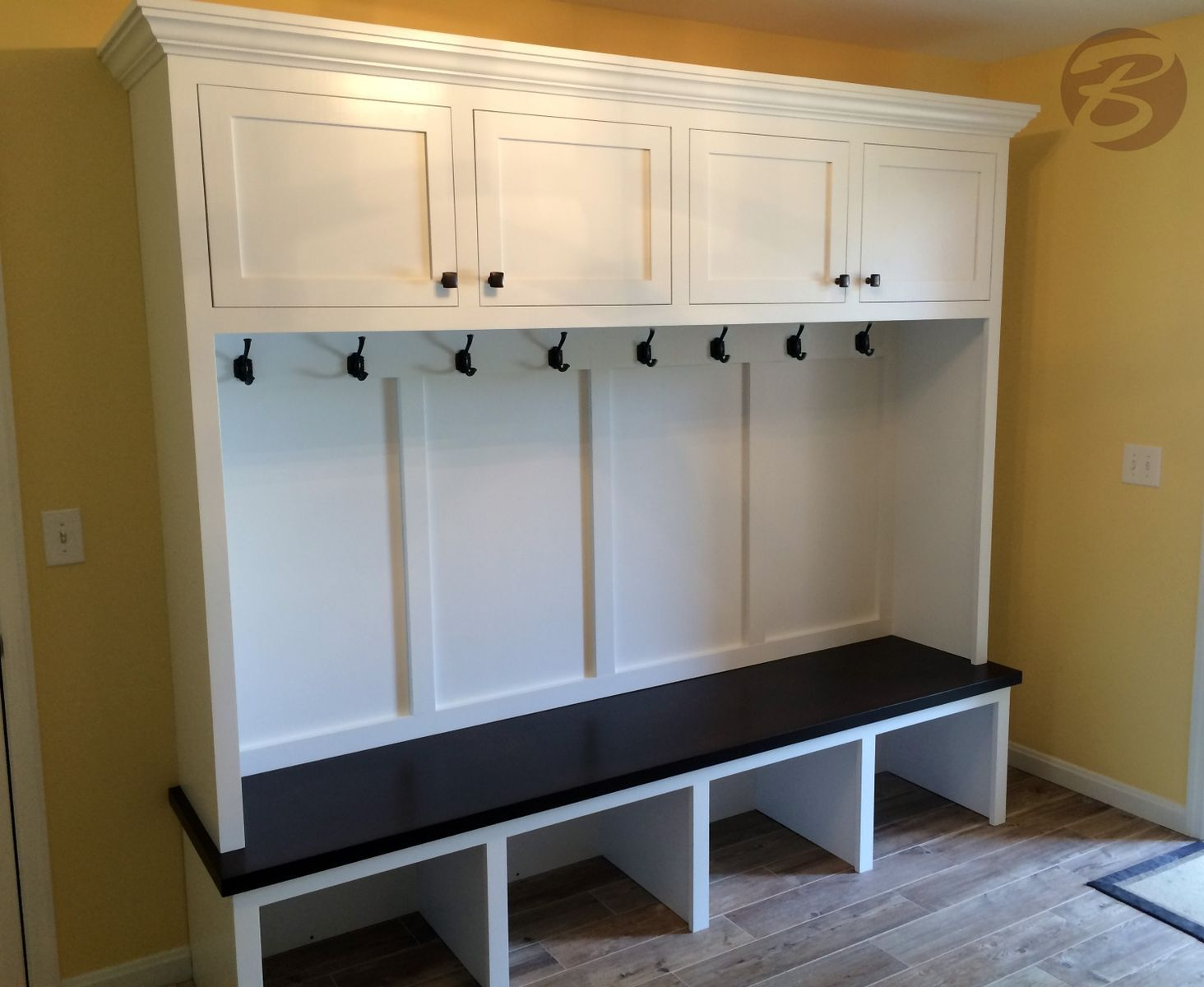 Entry Storage Furniture handmade mudroom / entryway bench and storageboltonwoodworking