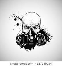 Gas Mask War Theme Google Pretraga Gas Mask Gas Art