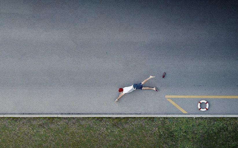 """OCN"" – Playful Aerial Shots of Funny Scenes Captured by Photographer Sebastien Staub"