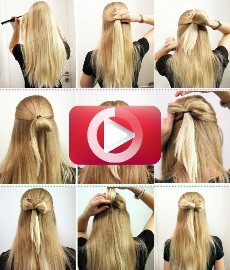 Pin Auf Einfache Frisuren