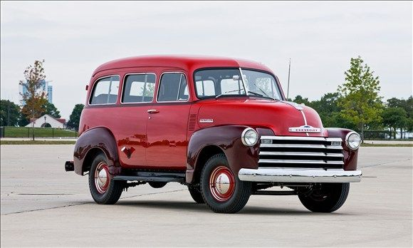 Chevrolet Suburban Evolution Of An Icon 1947 1955 Chevrolet
