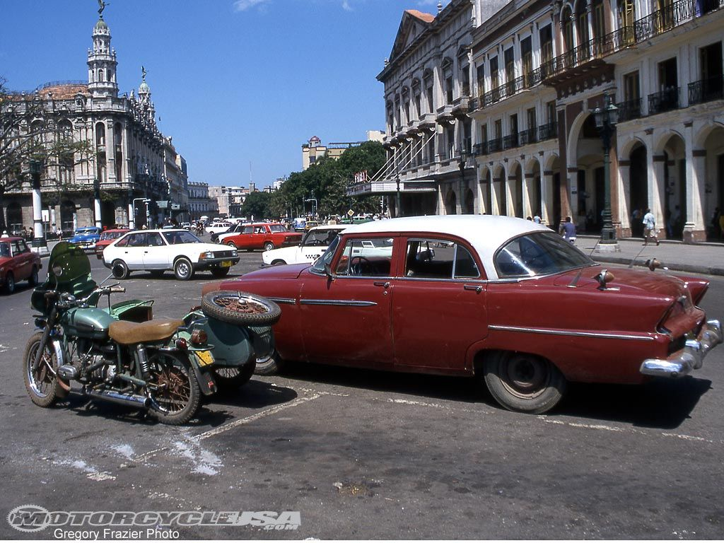 Dr Frazier Motorcycles Cuba Old motorcycles, Motorcycle