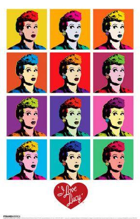 I Love Lucy - Pop Art Masterprint at AllPosters.com