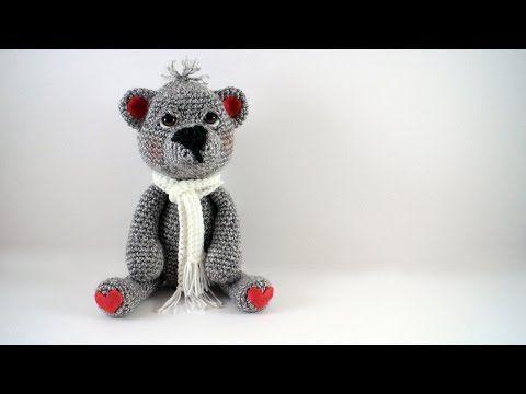 Amigurumi) Masum Ayıcık Kulak, Burun Örme ve Birleştirme - Teddy ... | 360x480