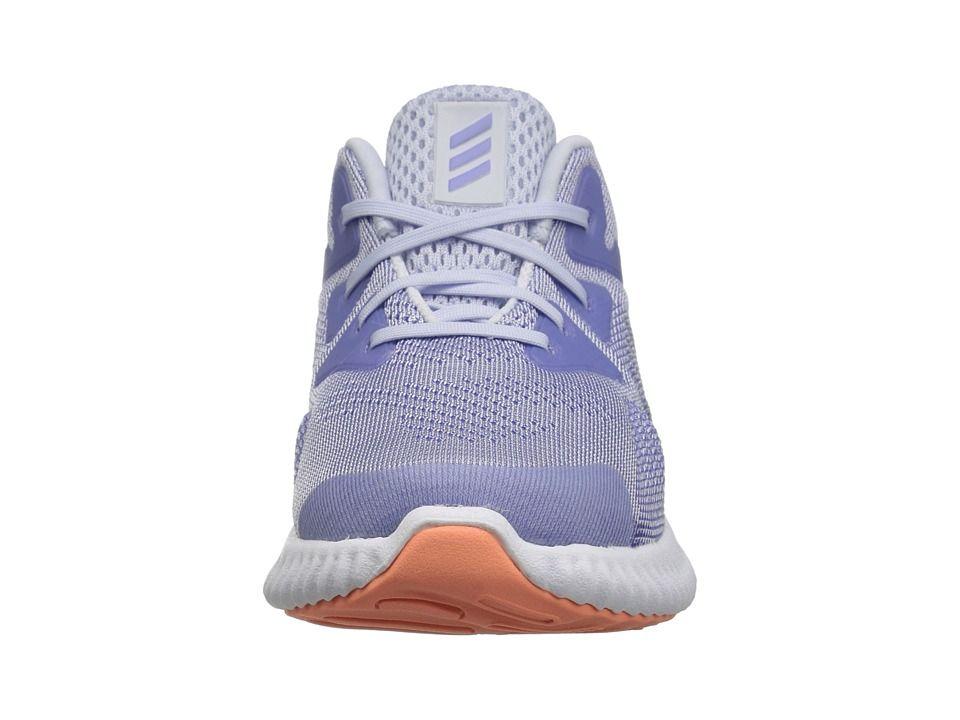8191911aa adidas Kids Alphabounce Beyond (Toddler) Girls Shoes Aero Blue Chalk Purple  White
