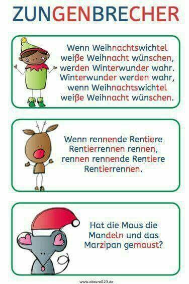 Pin Von Jessica Tufts Auf Deutsch Zungenbrecher Lesen