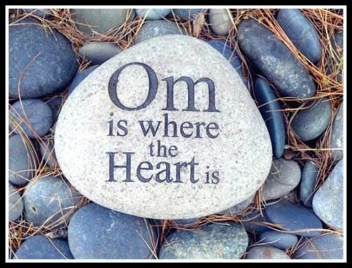 Om is where your heart is.