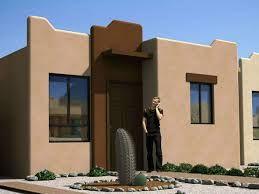 Resultado de imagen para fachadas de casas estilo santa fe for Fachadas de casas modernas en hermosillo