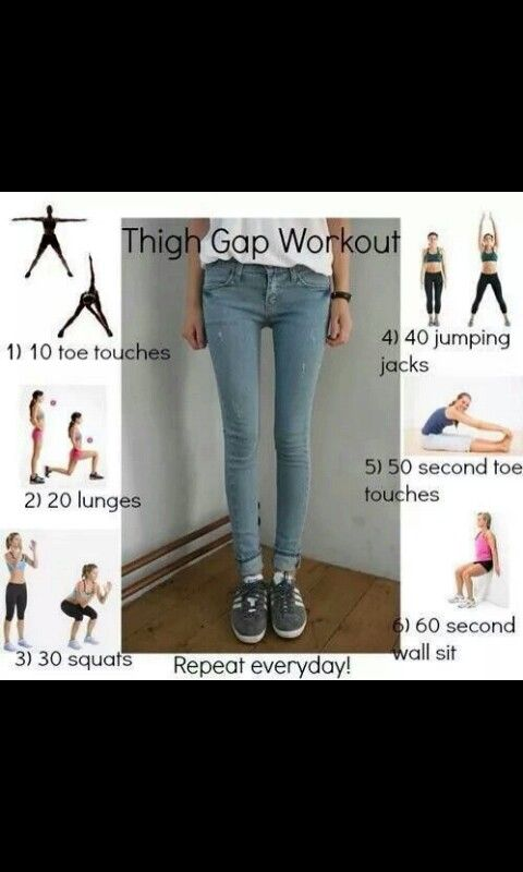 Not super concerned with a thigh gap... but slowing the roll of my thunder thighs is an interest of mine.