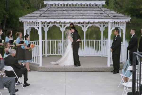 Wedding Lake Lyndsay Outdoor Ceremony