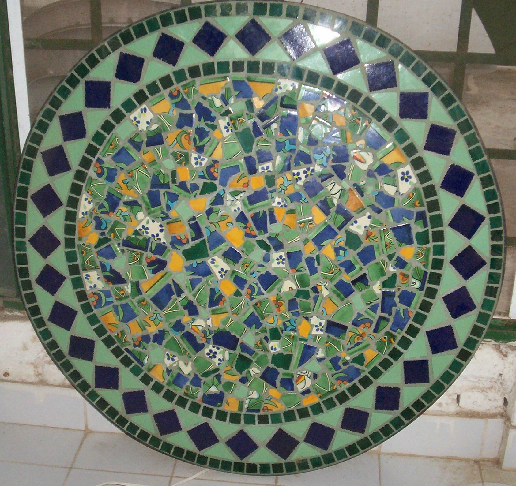 Broken Mexican Tiles For Sale | Hand Made Mexican Tile Mosaic ...