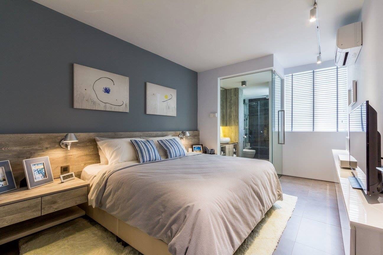 4 room bto master bedroom  Fineline Design Studio HDB Design for Bedroom finelinedesign hdb