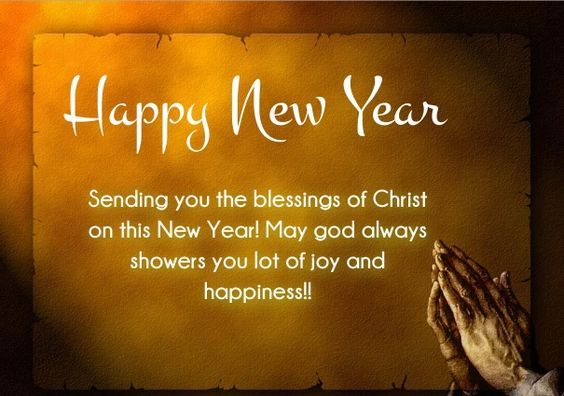 Superior Christian Happy New Year Wishes Quotes | Star* | Pinterest | Christian  Messages, Prayer Verses And Religious People