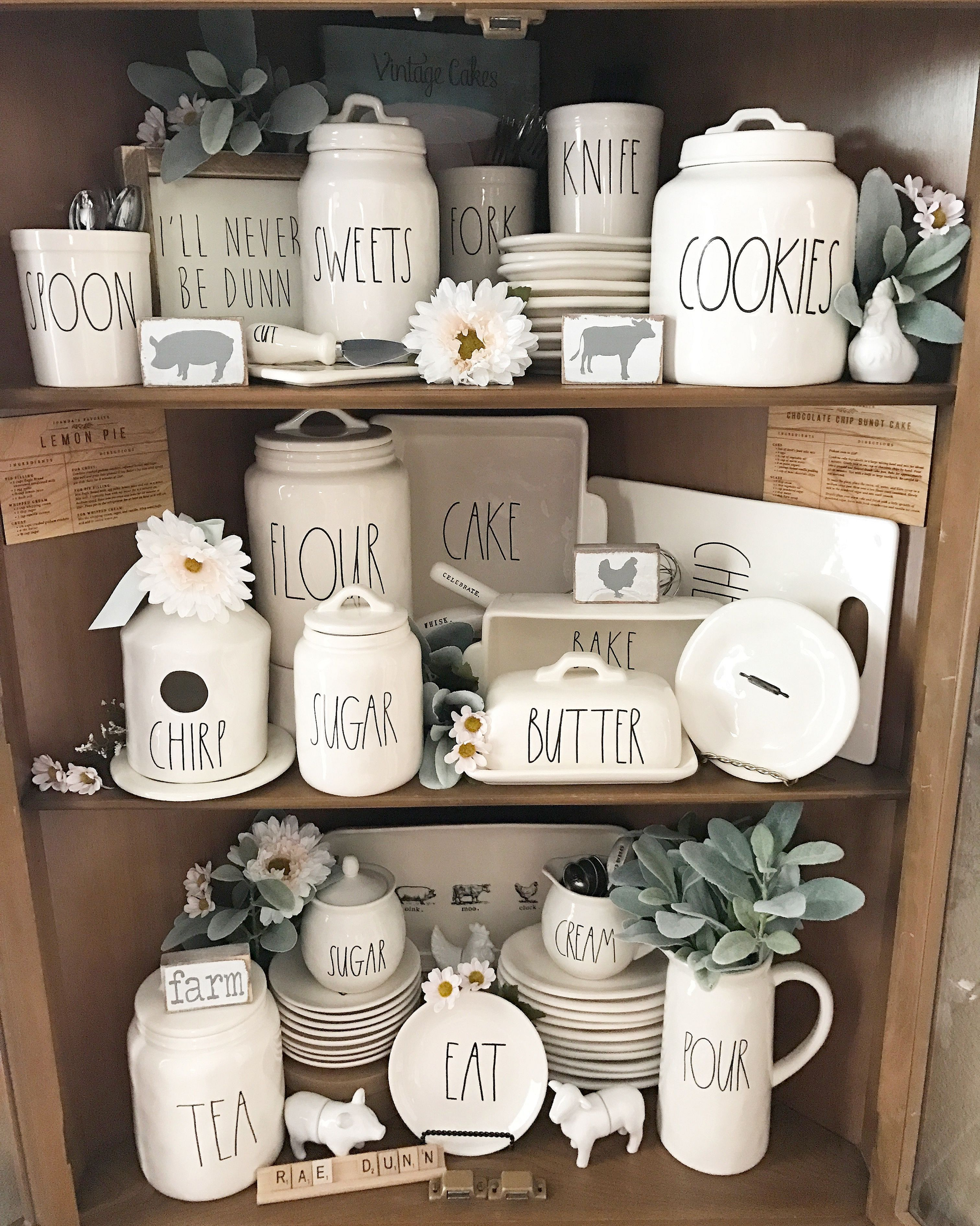 Decorate China Cabinet For Christmas