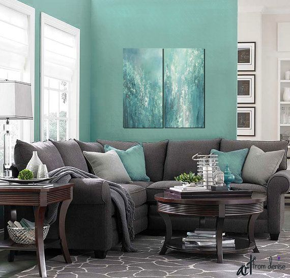 Excellent Extra Large Abstract 3 Piece Canvas Art For Grey Teal Master Evergreenethics Interior Chair Design Evergreenethicsorg