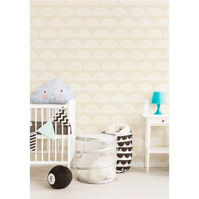 Latitude Run® This self adhesive wallpaper can refresh your home, such as your bedroom, desk, living room, kitchen, staircase, counter, dressing table, bookshelf, etc. Perfect for DIY project, including TV background wall decoration, furniture refurbishment.