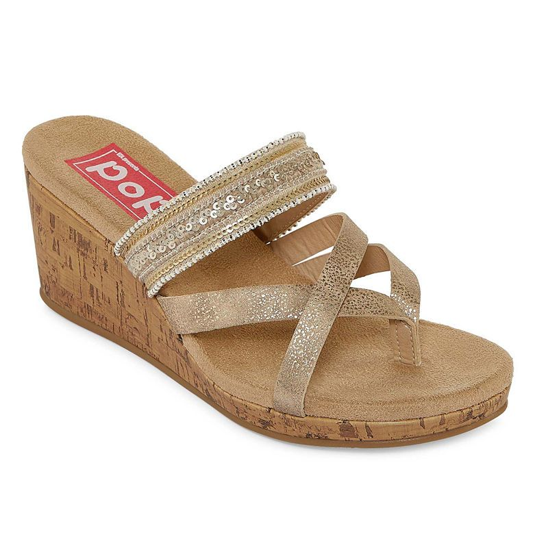 5096e5e2bfc26 Pop Hana Womens Wedge Sandals