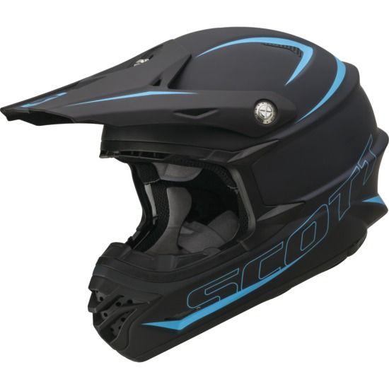 Helmet Scott 350 Pro Ece Satin Black Xs Helmet Motocross Gear
